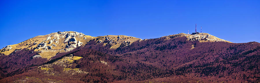 Licka Plesevica Mountain Peak Panorama Photograph