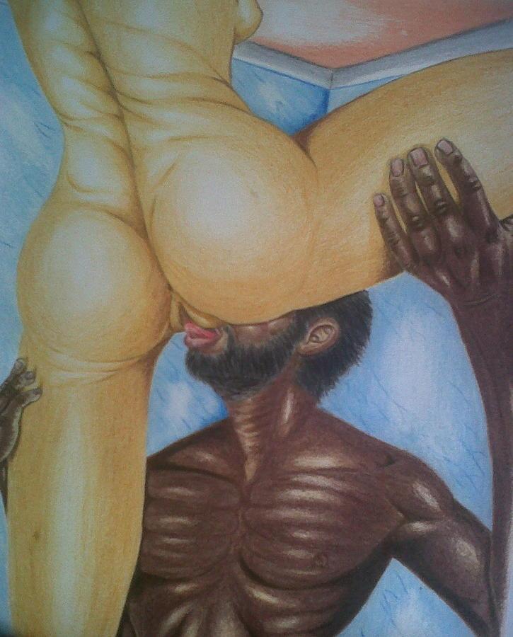 Oral sex paintings