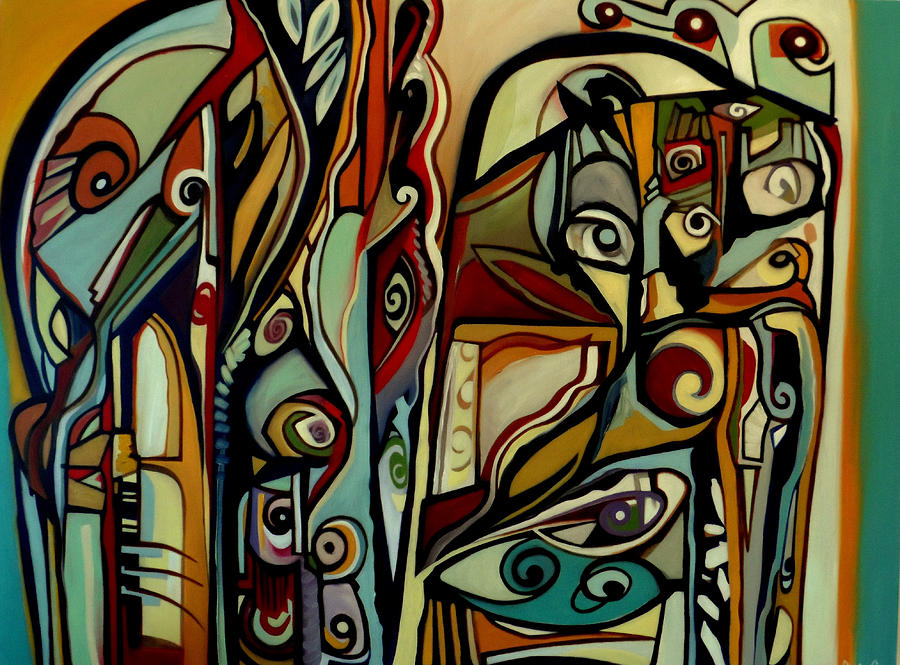 Modernism Painting - Life After Midnight by Dawson Taylor