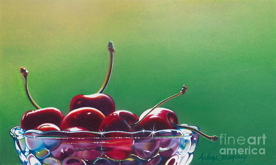 Colored Pencil Painting - Life by Arlene Steinberg