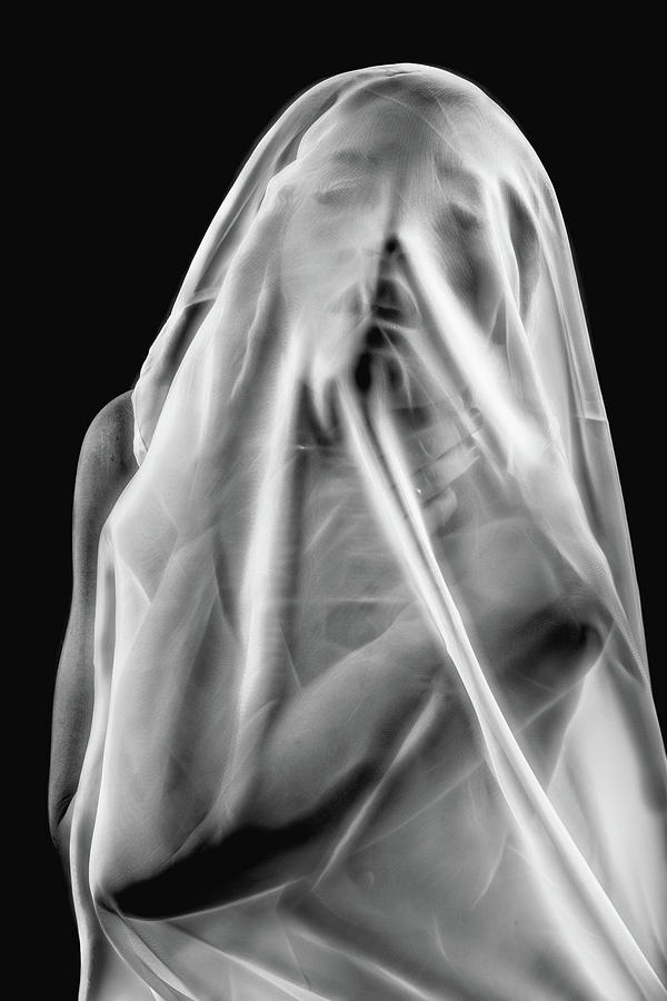 Female Photograph - Life Behind The Veil by Colin Dixon