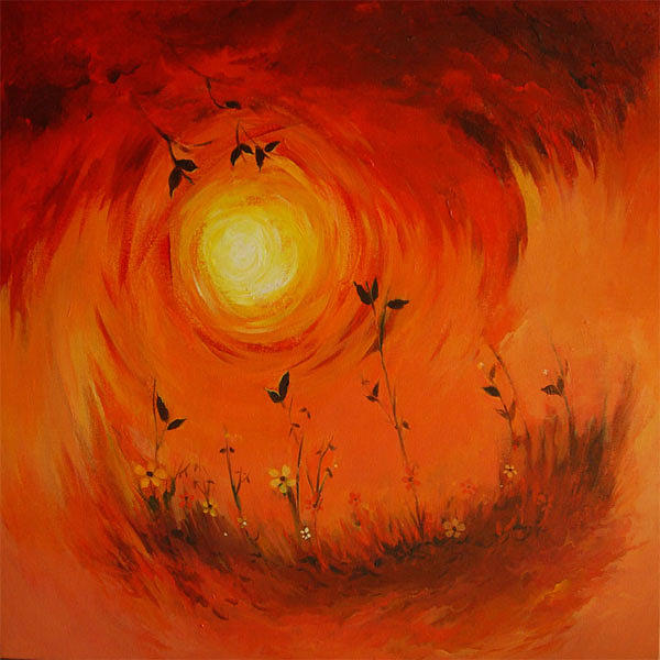 Landscape Painting - Life Cycle by Deepali Sagade