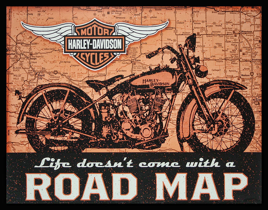 Life Doesn't Come With A Roadmap by Photographic Art by Russel Ray Photos