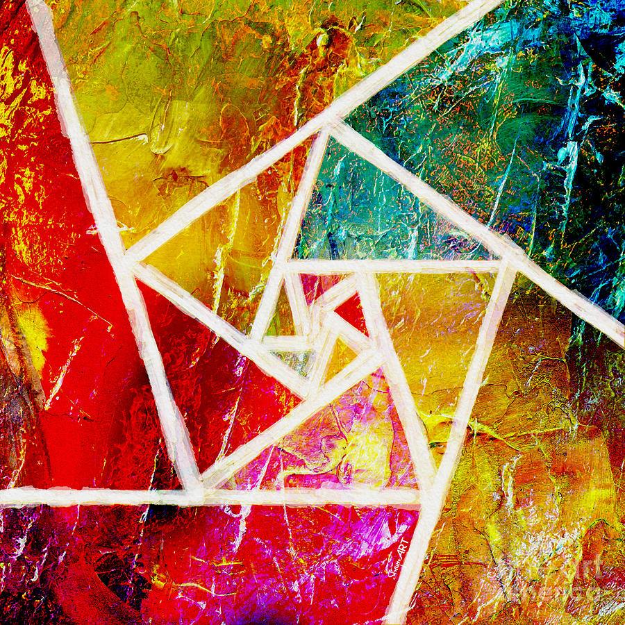 Abstract Digital Art - Life by Donika Nikova