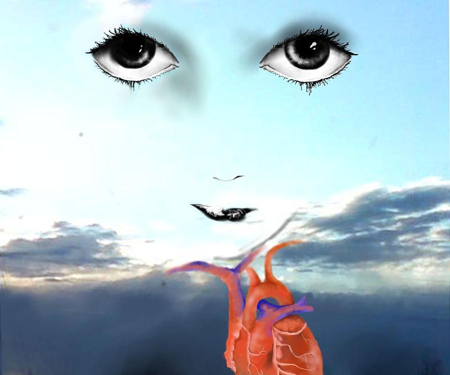 Eyes Digital Art - Life Force by Corina Bishop