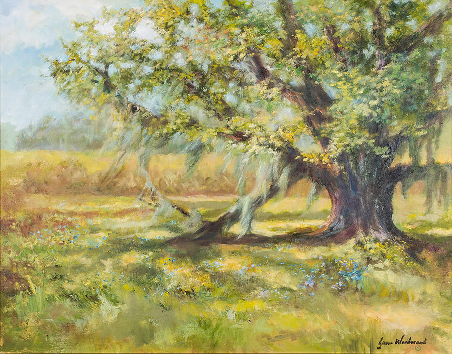Jane Woodard Painting - Life In The Low Country by Jane Woodward