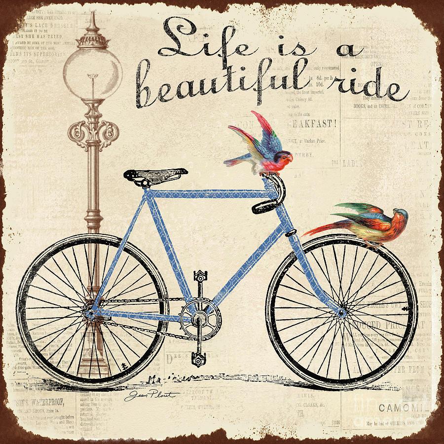 Digital Digital Art - Life Is A Beautiful Ride by Jean Plout