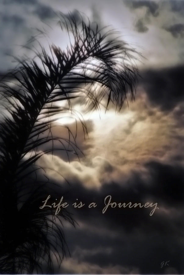 Nature Photograph - Life Is A Journey by Gerlinde Keating - Galleria GK Keating Associates Inc