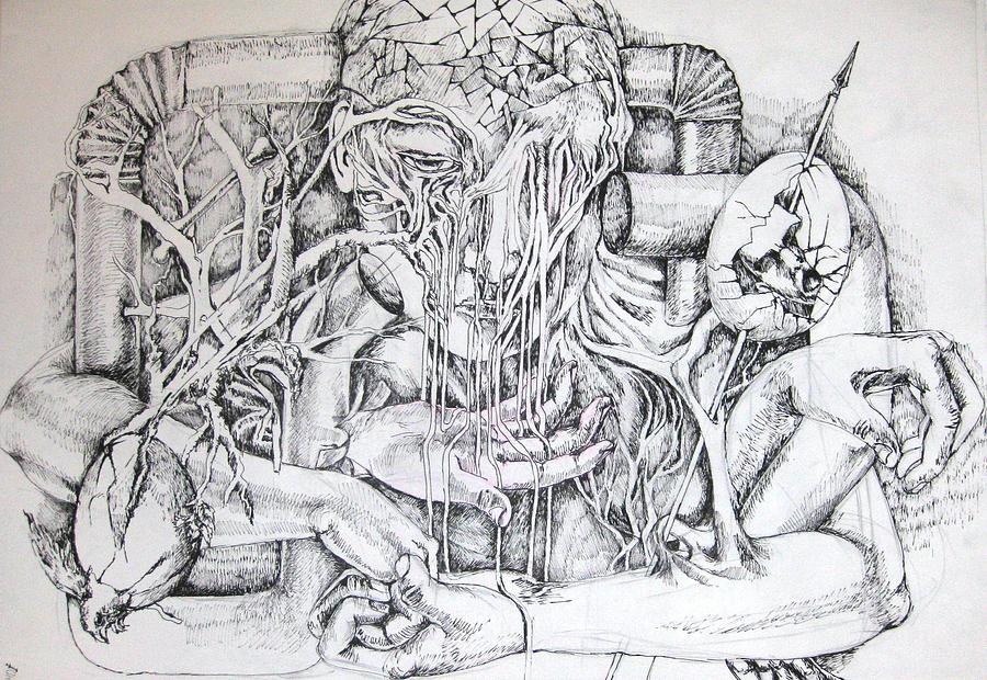 Life Drawing - Life by Moshfegh Rakhsha