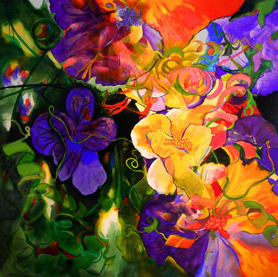 Life Of Flowers Painting by Georg Douglas