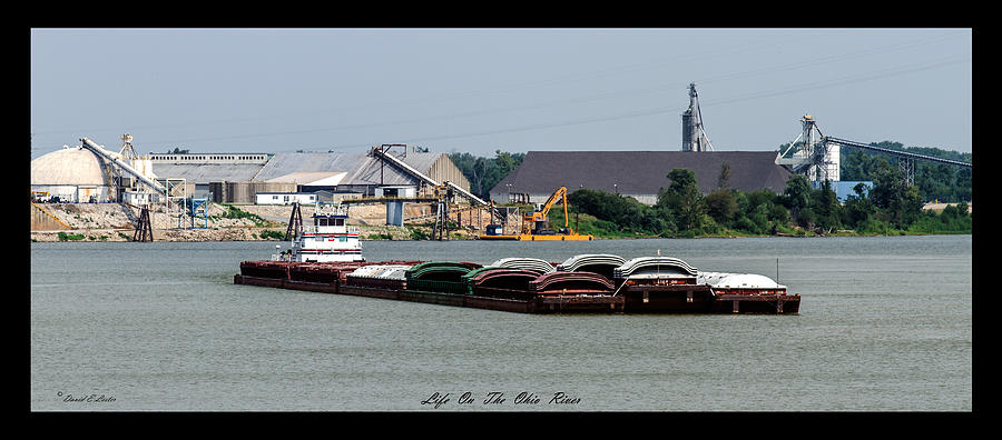 David Lester Photograph - Life On The Ohio River 2 by David Lester