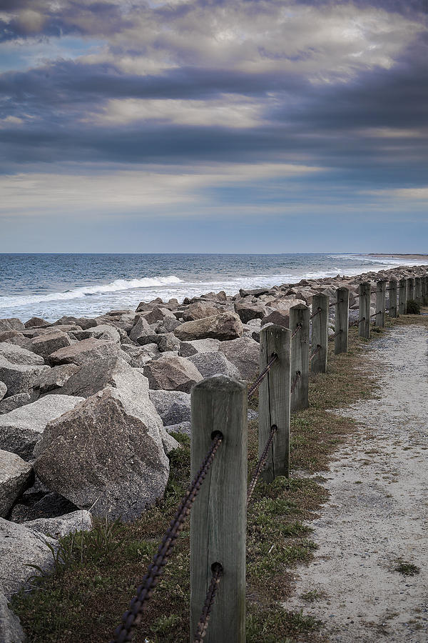 Fort Fisher Photograph - Life On The Rocks by Chris Brehmer Photography
