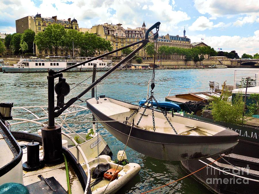 Abstract Photograph - Life On The Seine by Lauren Leigh Hunter Fine Art Photography
