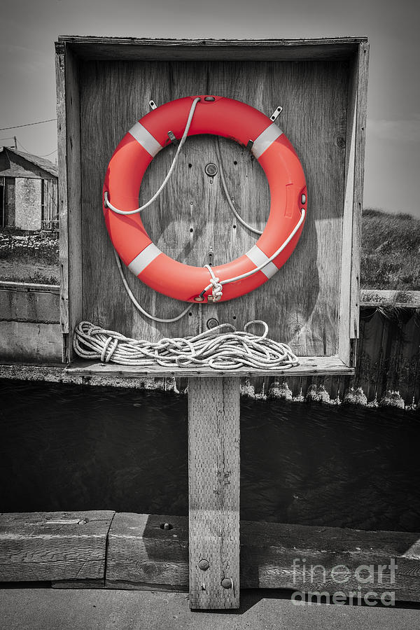 Lifebuoy Photograph - Life Saver by Elena Elisseeva