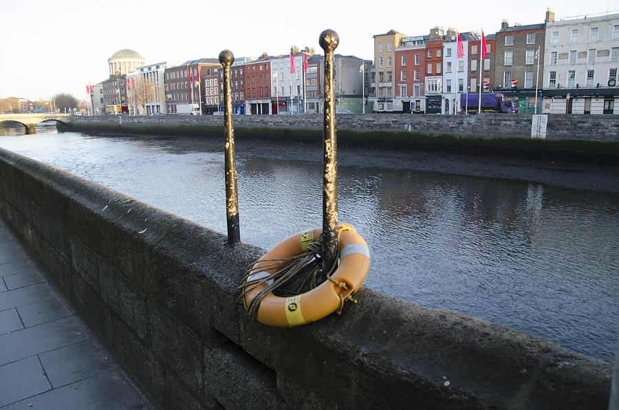 Life Digital Art - Life Saver -  Swiffey River - Dublin Ireland by Bill Cannon