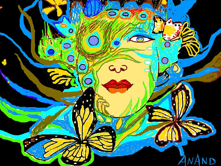 Still-life Digital Art - Life Study-11 by Anand Swaroop Manchiraju