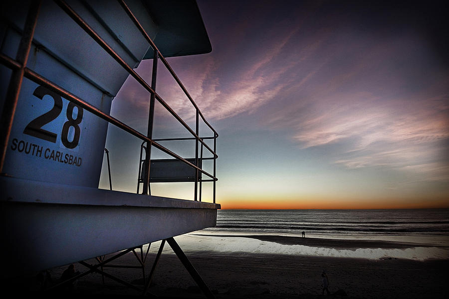 Lifeguard Tower Series - 21 Photograph by James David Phenicie