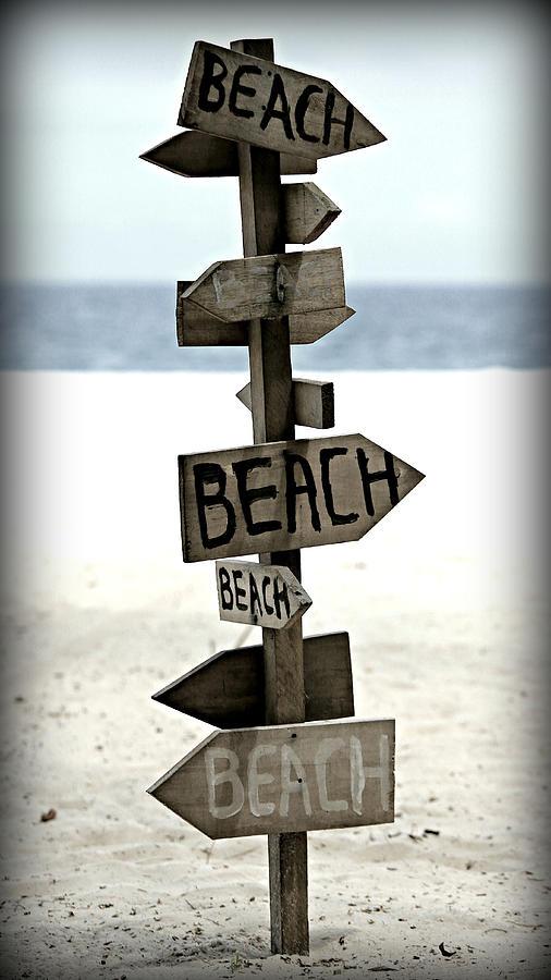 Lifes A Beach Photograph