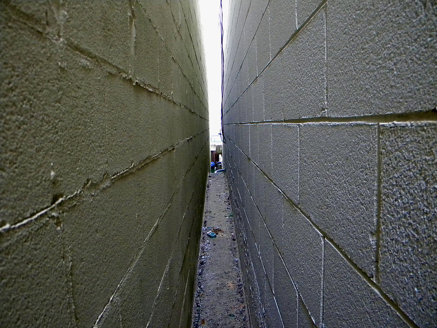 Lifes Narrow Alley Photograph by John Christian
