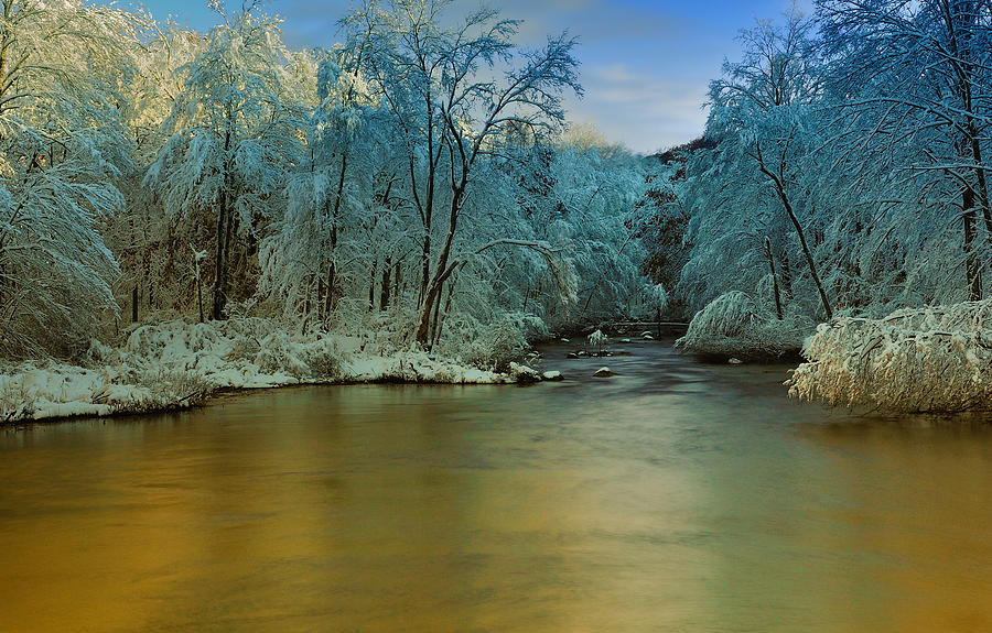 Winter Photograph - Light After The Storm by Thomas Schoeller