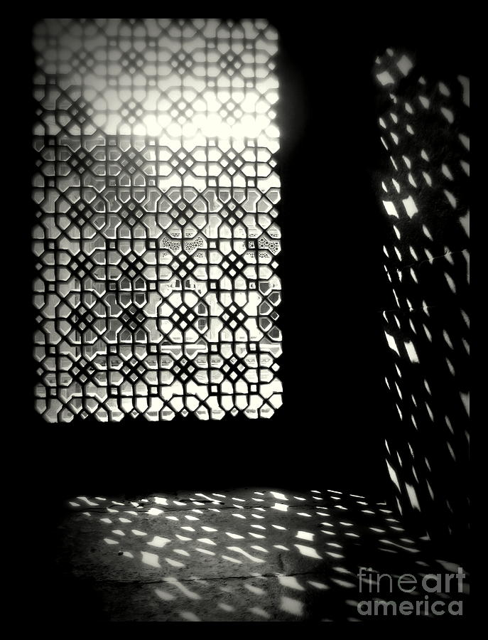 Black And White Photograph - Light And Shadows by Prajakta P