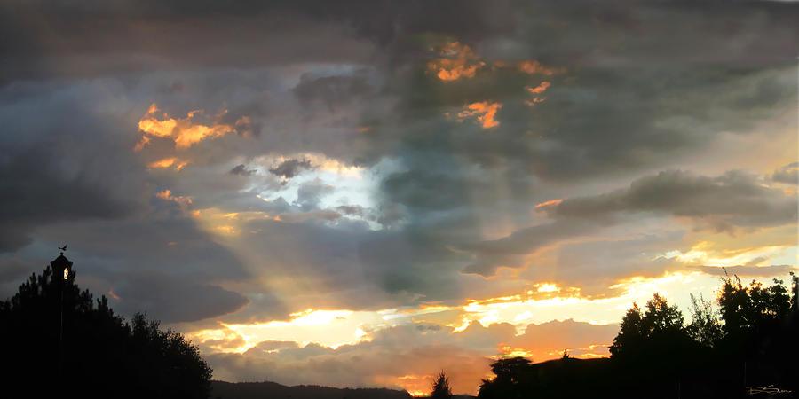 Sunset Photograph - Light At Sunset by Ric Soulen