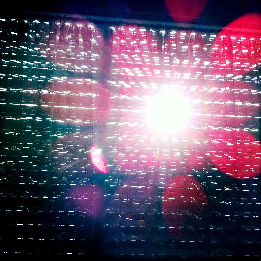 Light Photograph - Light Beams by Matthias Hauser