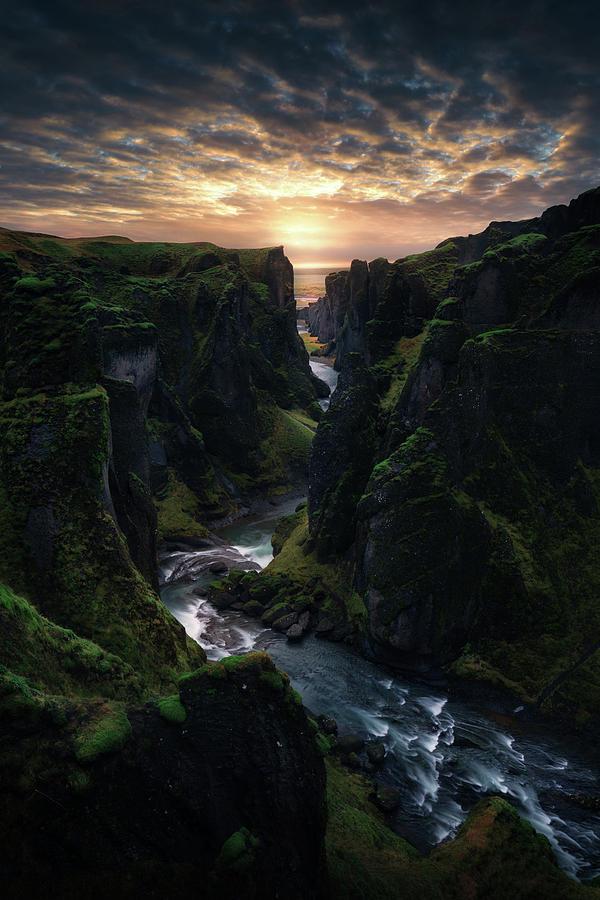 Nature Photograph - Light Canyon. by Juan Pablo De