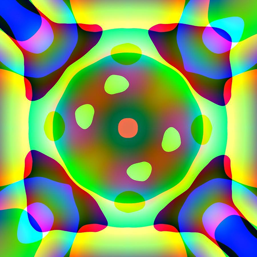 Light Emitting Diode Digital Art - Light Emitting Diode by Charles Ragsdale