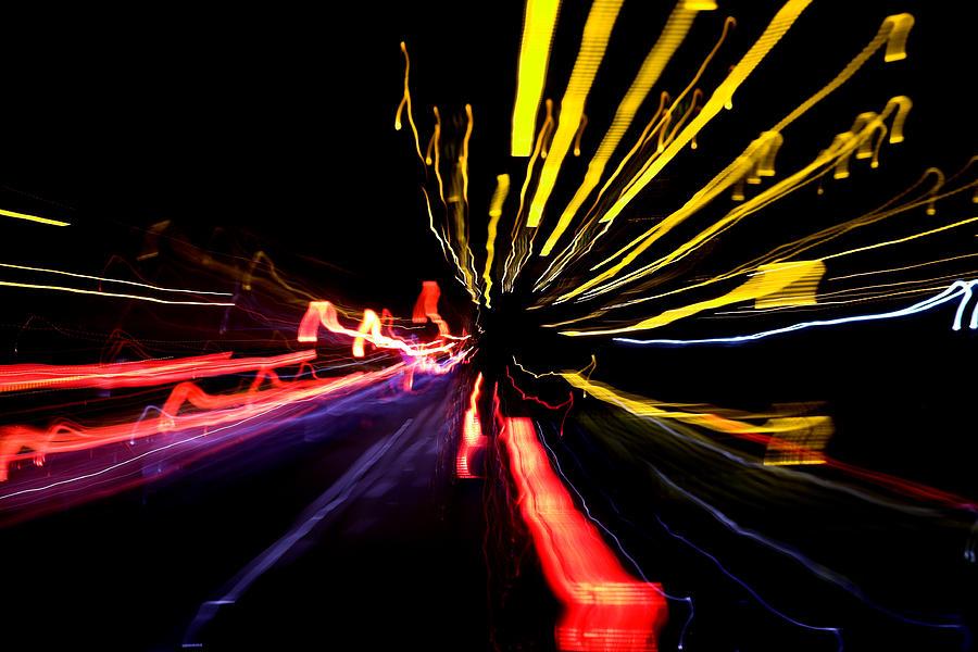 Abstract Digital Art - Light Fantastic 03 by Natalie Kinnear