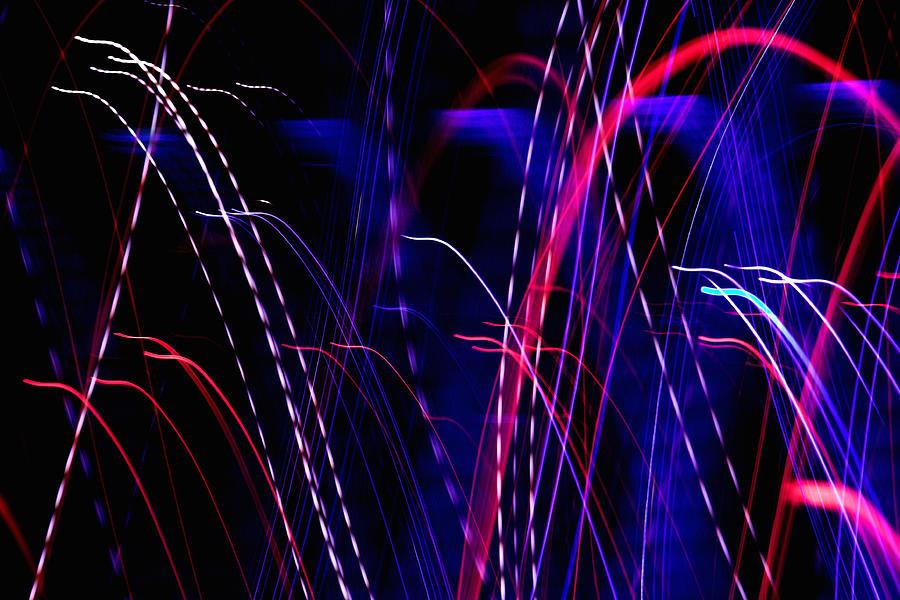 Abstract Digital Art - Light Fantastic 05 by Natalie Kinnear