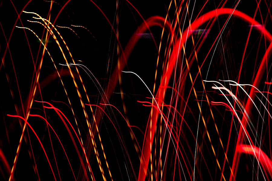 Abstract Photograph - Light Fantastic 08 by Natalie Kinnear