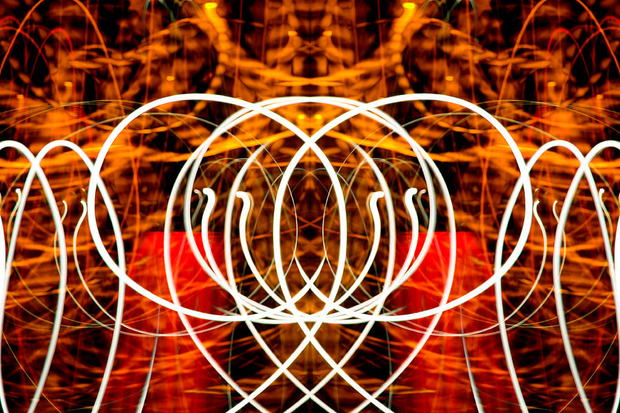 Abstract Photograph - Light Fantastic 16 by Natalie Kinnear