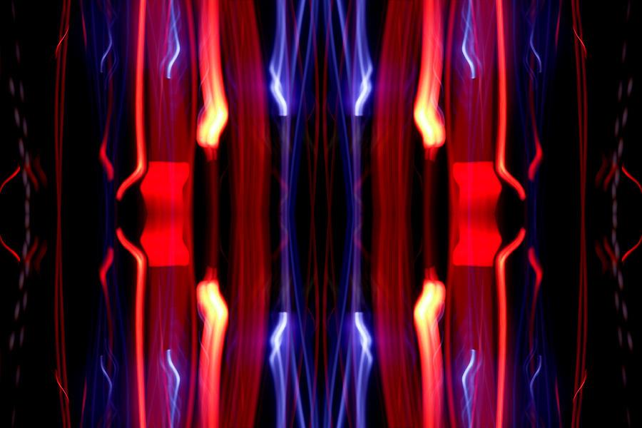 Abstract Photograph - Light Fantastic 20 by Natalie Kinnear