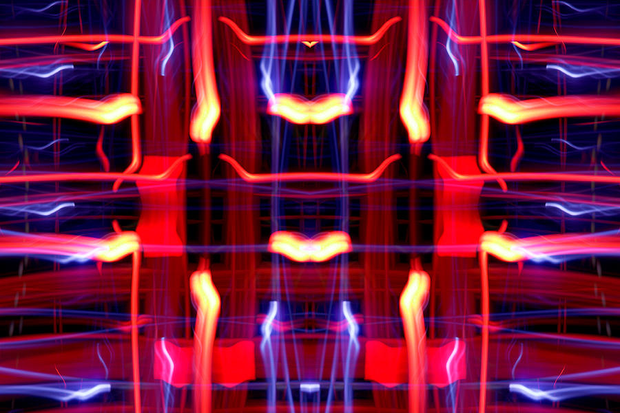 Abstract Photograph - Light Fantastic 21 by Natalie Kinnear