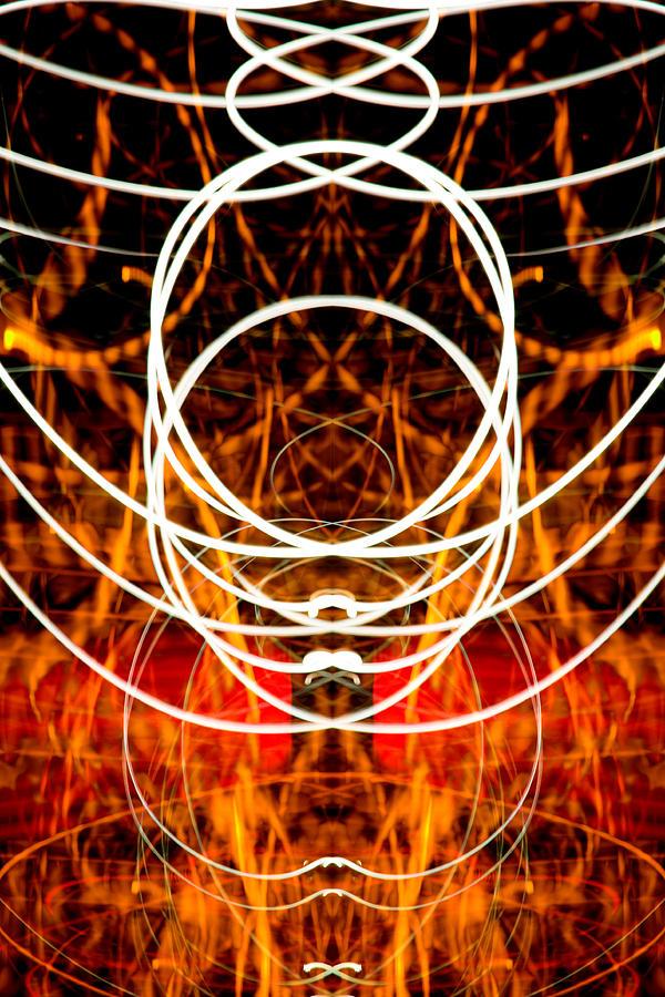 Abstract Photograph - Light Fantastic 31 by Natalie Kinnear