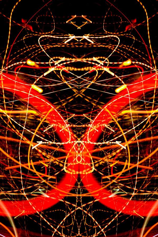 Abstract Photograph - Light Fantastic 32 by Natalie Kinnear