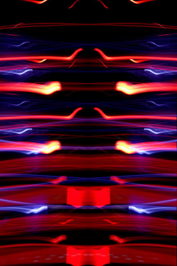 Abstract Photograph - Light Fantastic 35 by Natalie Kinnear