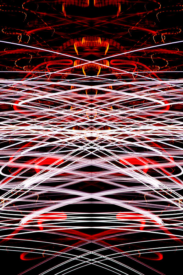 Abstract Photograph - Light Fantastic 37 by Natalie Kinnear