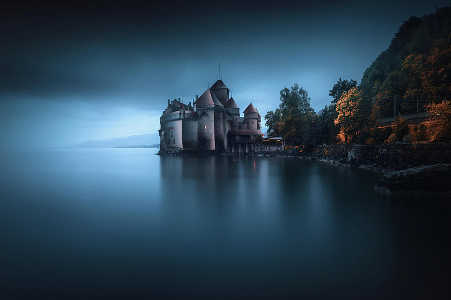 Lake Photograph - Light Fortification 2. by Juan Pablo De