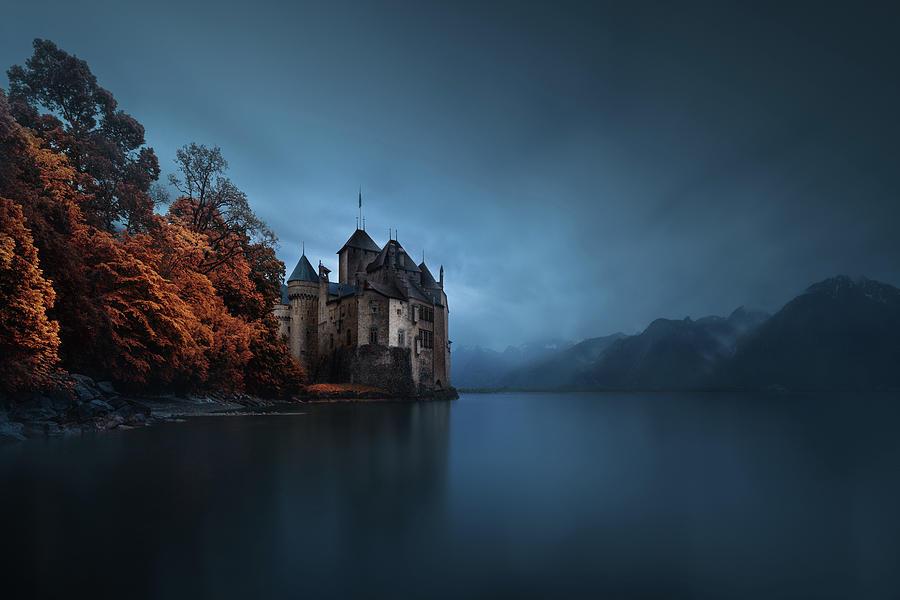 Lake Photograph - Light Fortification. by Juan Pablo De