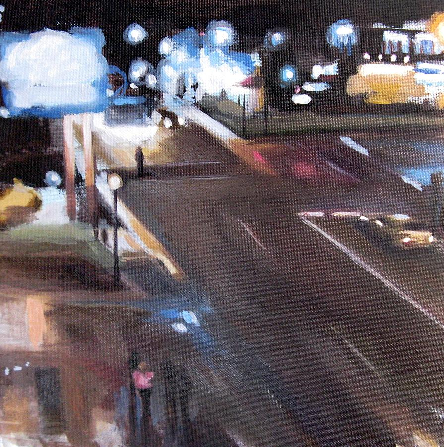 Gatlinburg Painting - Light From Above by Erin Rickelton