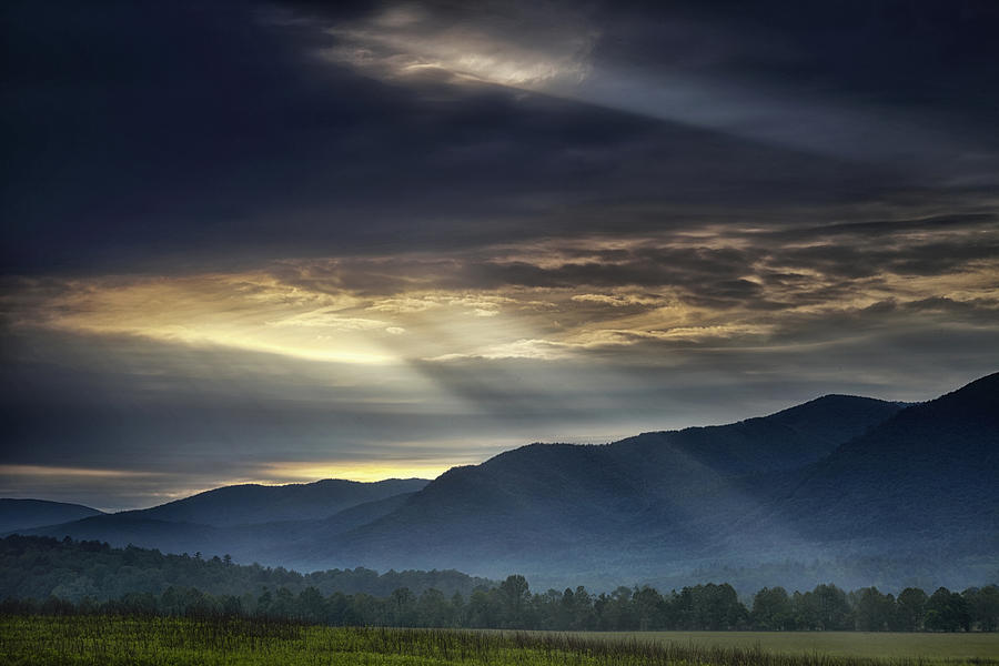 Smoky Photograph - Light From The Heavens by Andrew Soundarajan