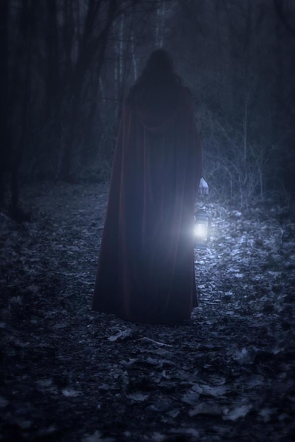 Woman Photograph - Light In The Dark by Joana Kruse