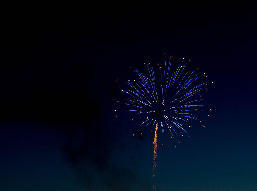 Fireworks Photograph - Light In The Night by Megan Tangeman