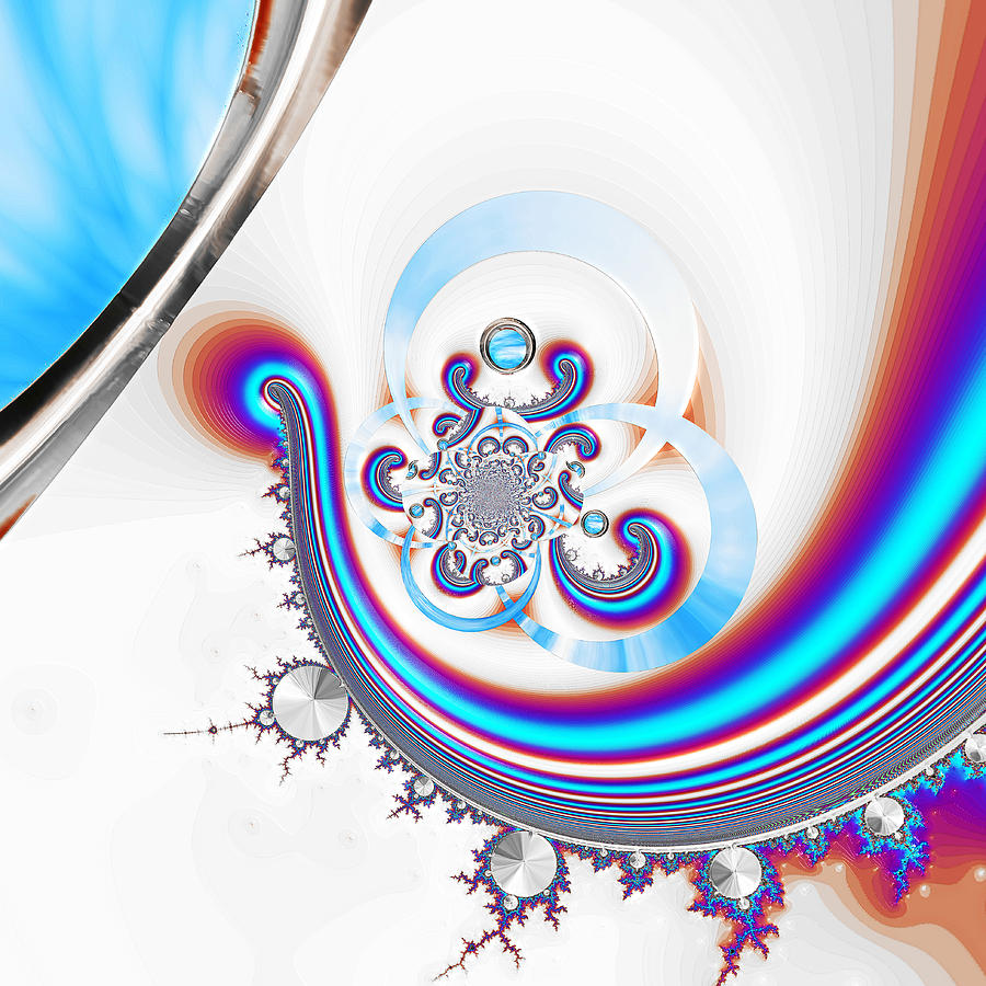 Digital Digital Art - Light Jazz by Wendy J St Christopher