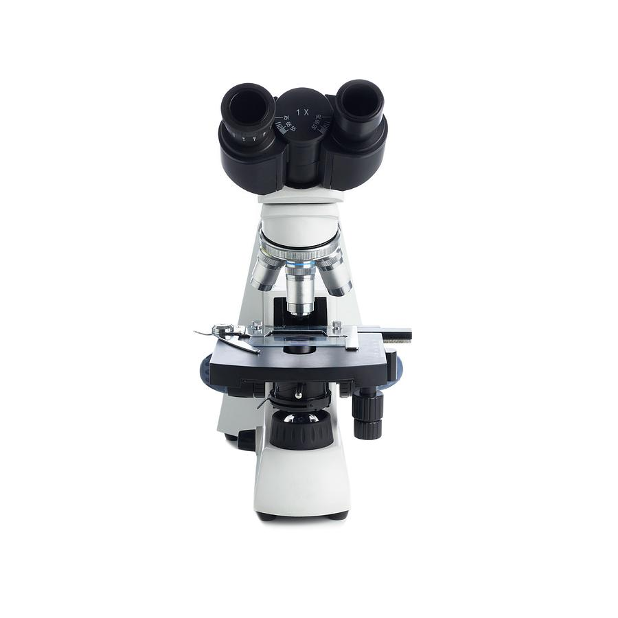 Equipment Photograph - Light Microscope by Science Photo Library