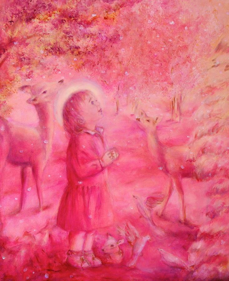 Love Painting - Light Of The Heart by Marija Schwarz