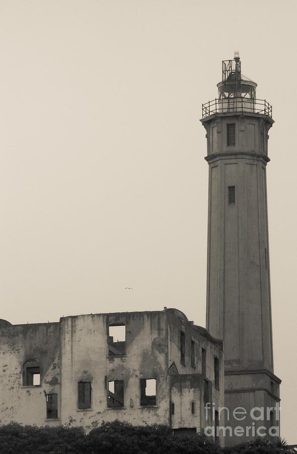 Alcatraz Island Photograph - Light Of The Rock by Patty Descalzi