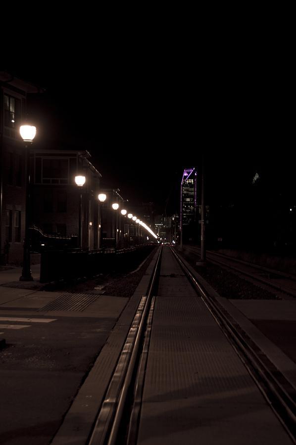 Charlotte Photograph - Light Rail by Doug Hubbard